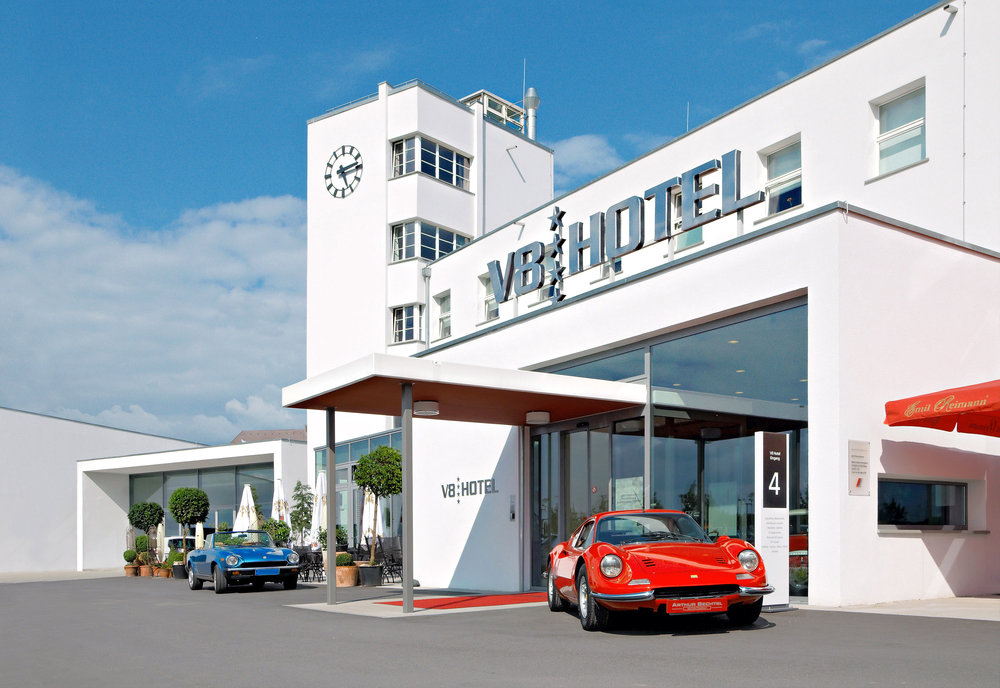 Bright and shining: the V8 Hotel