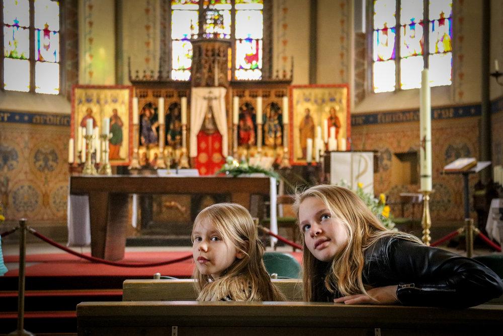 Impressed in the church of Ootmarsum