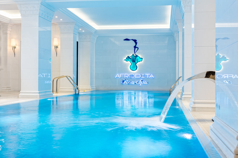 And for adults... the spa