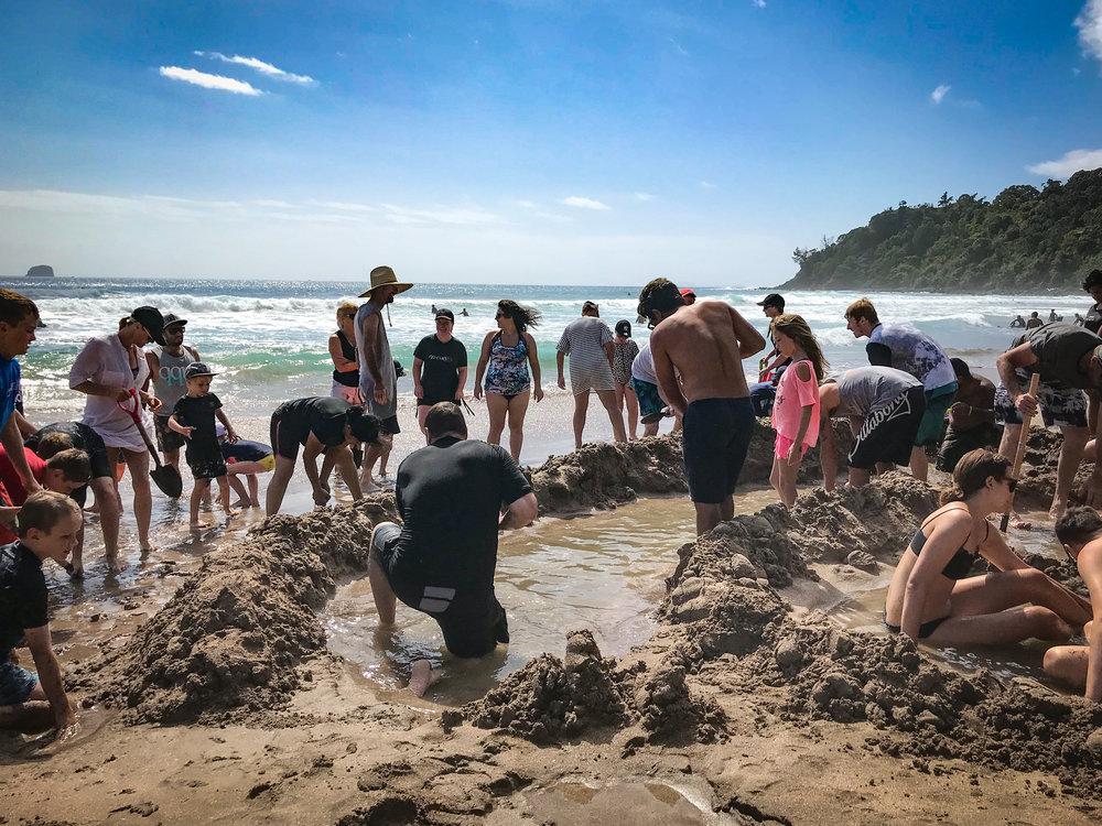 Hot Water Digging