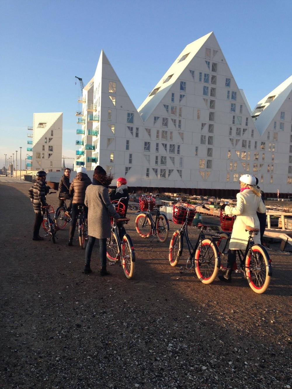 Med cycling aarhus Isbjerget.jpg