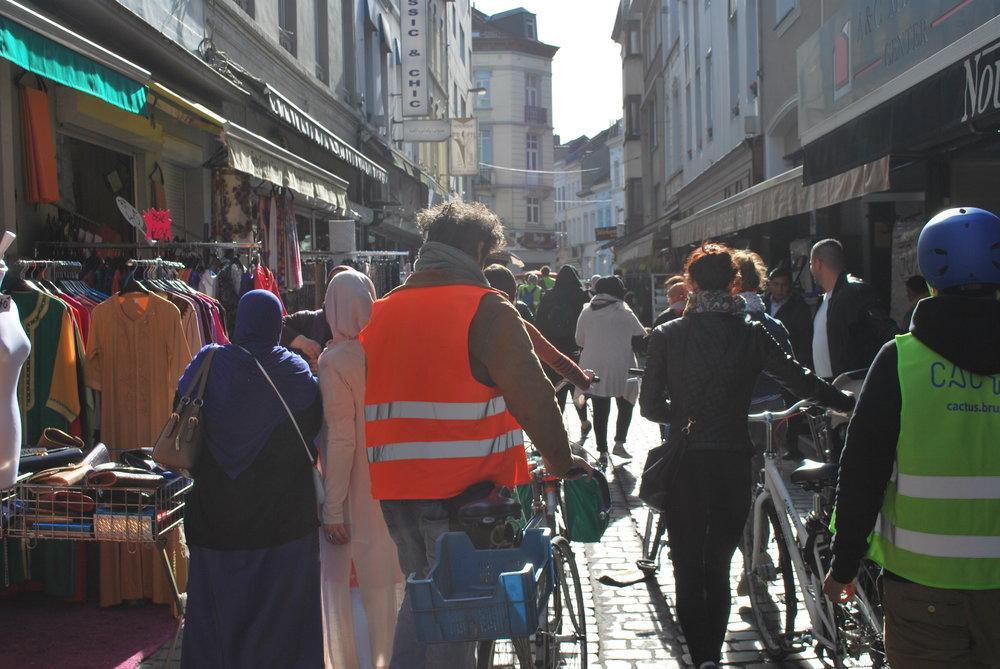 Canal bxl à vélo - Ontdek de kanaalzone - découvrez le canal et ses quartiers à vélo!15 € p.p.@Bruxelles les Bainsinfo & tickets: info@cactus.brussels
