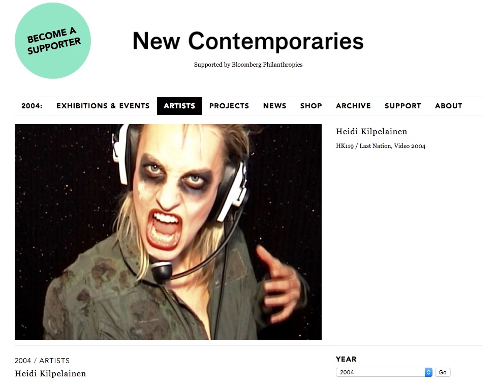 New Contemporaries / Heidi Kilpelainen