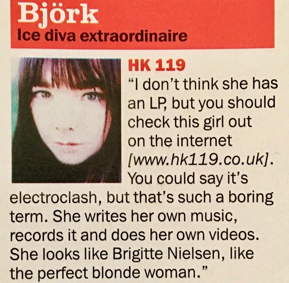 HK119 Bjork Q Magazine