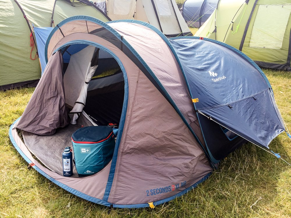 Festival Camping Gear with Quechua