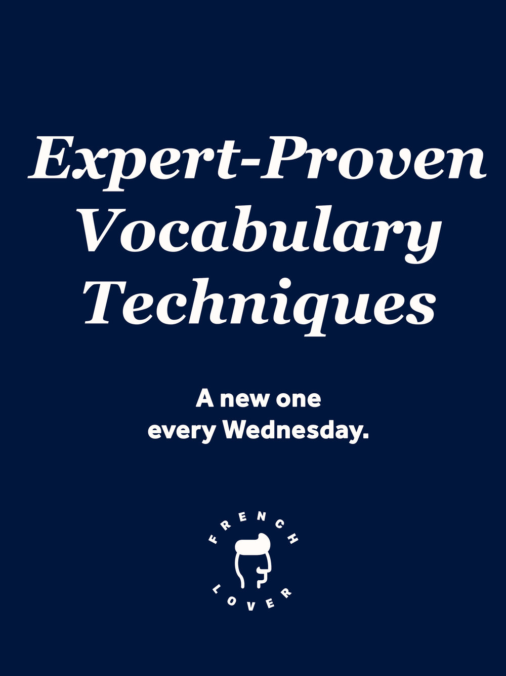 Learn and remember your vocabulary like a boss with these expert proven vocabulary techniques. A new technique is published every wednesday with its plus points and minus points.