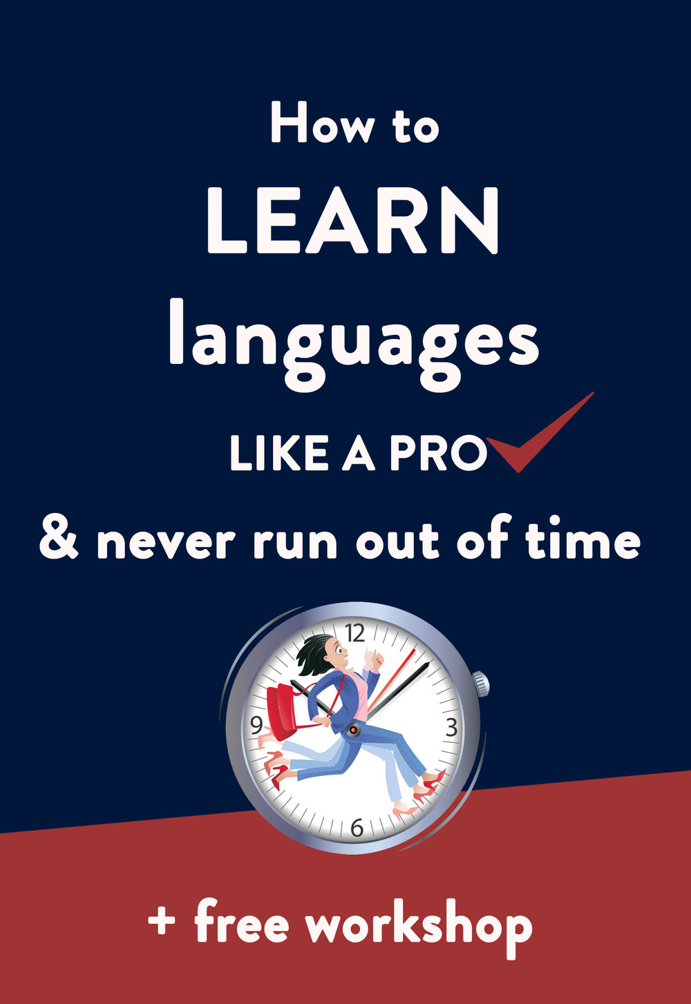 Find time to learn languages