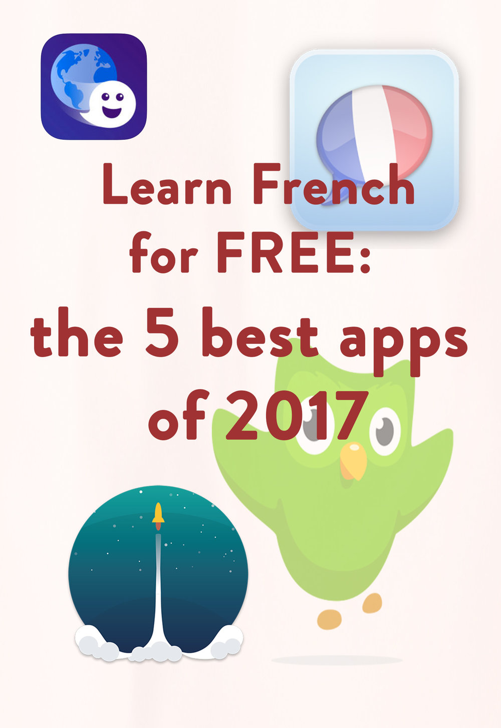 Learn French with those free apps