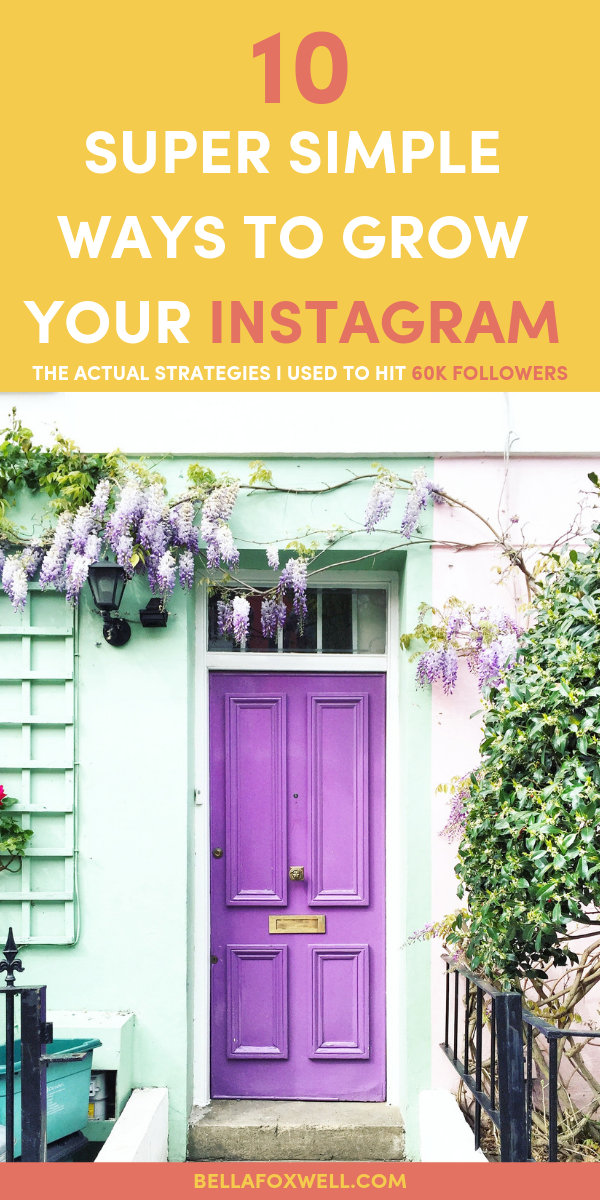 10 tips to grow Instagram followers in 2019