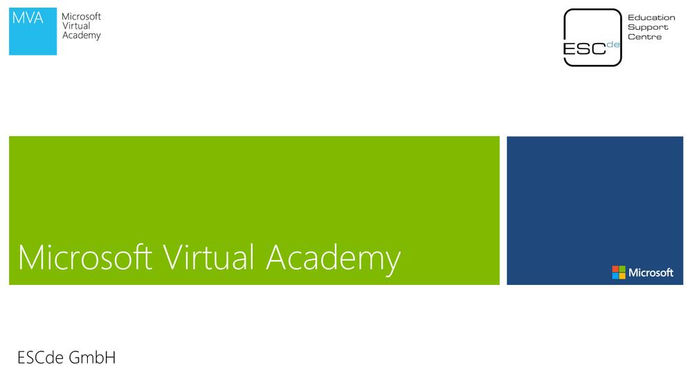 Microsoft Virtual Academy Kurse - Im Auftrag von Microsoft haben wir viele Wissenskurse zu verschiedenen Themen für IT-Professionals und Entwickler erstellt. Die MVA Kurse stehen Ihnen kostenlos und frei zur Verfügung.