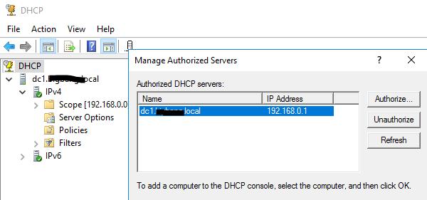01 Authorize Server