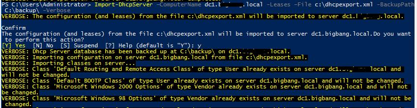 03 DHCPServer Import
