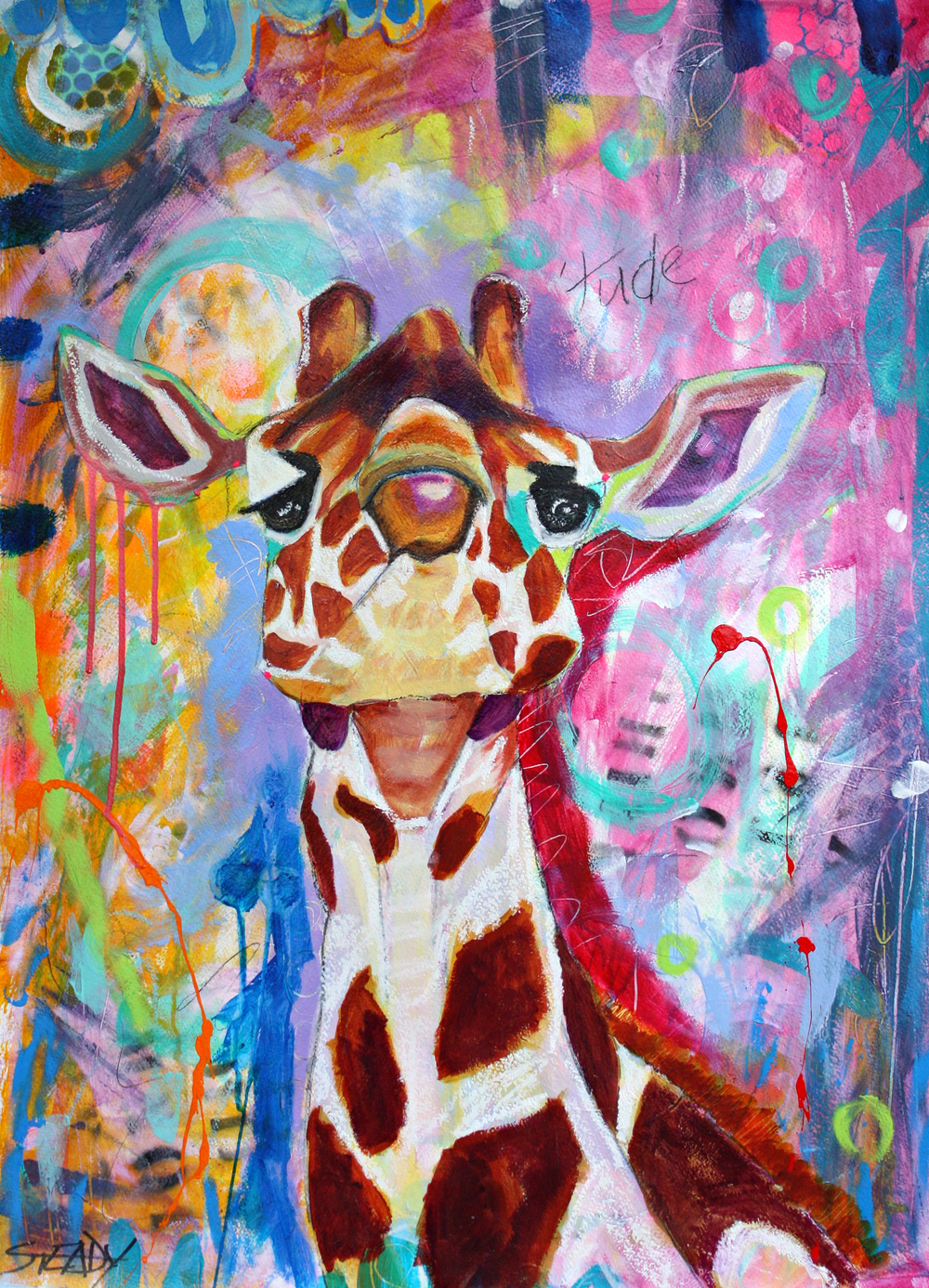 'Tude . . . $300 (SOLD) - 2016 Animal Exhibition Blue Ribbon