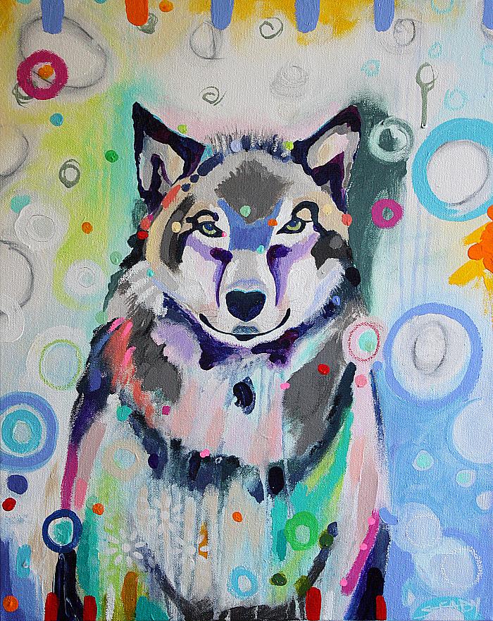 Renita's Wolf (SOLD)