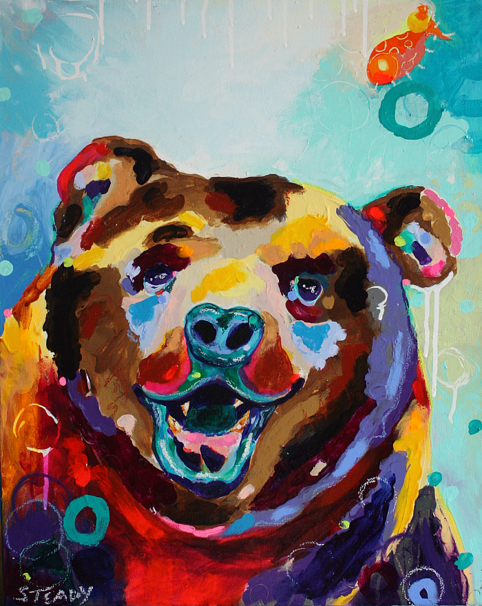Grin And Bear It (SOLD)