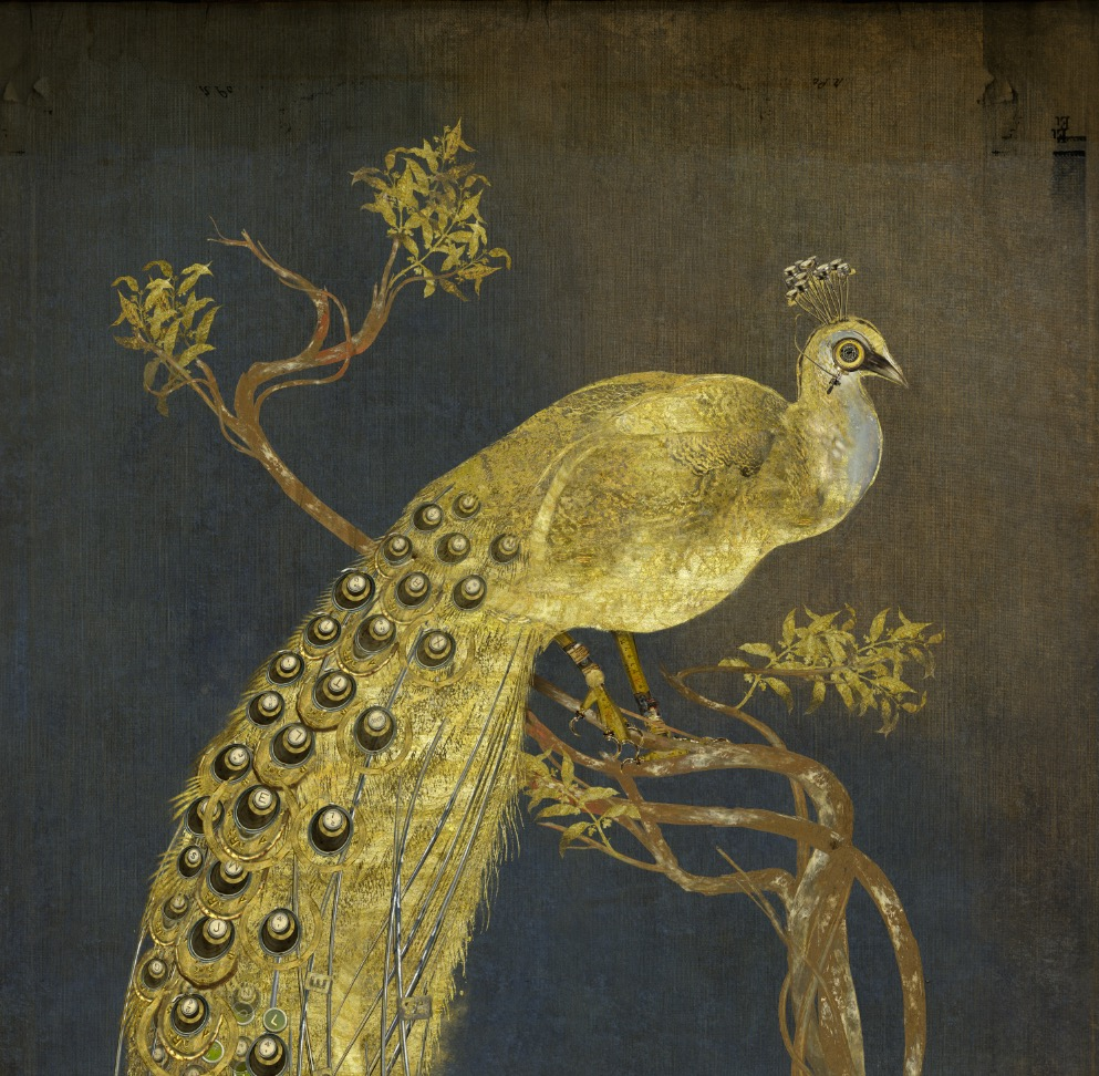 Paon Alexandre III (detail)