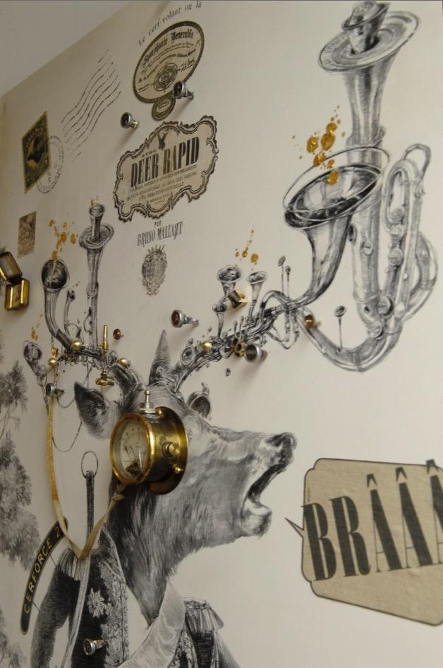 Le brame du cerf-volant ou la symphonie vénérable (détail)