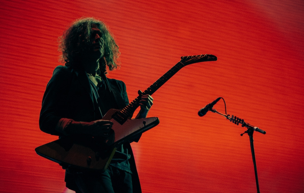 MONTERREY, MEXICO – MARCH 31: Dave Keuning of The Killers performs at Pal Norte Festival on March 31, 2017 in Monterrey, Mexico. (Photo by Rob Loud/WireImage)
