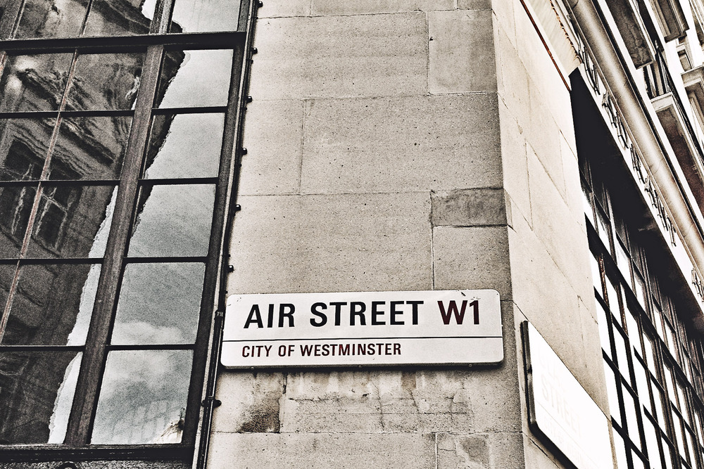 Air Street W1, London, UK