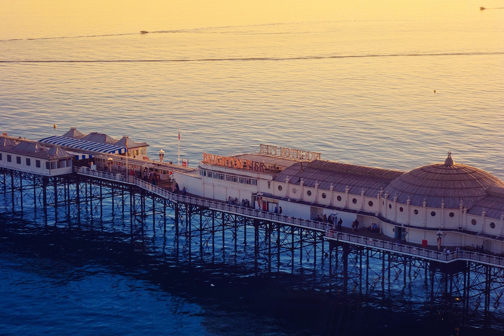 Brighton Pier, Brighton, East Sussex, England