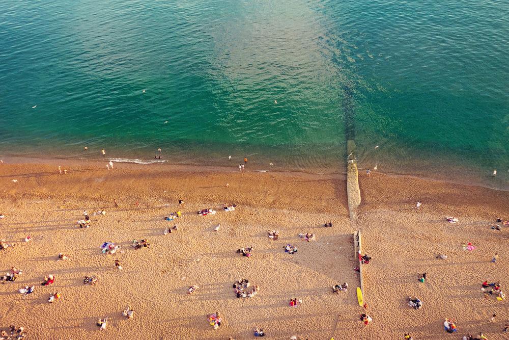 Brighton Beach, Brighton, East Sussex, England