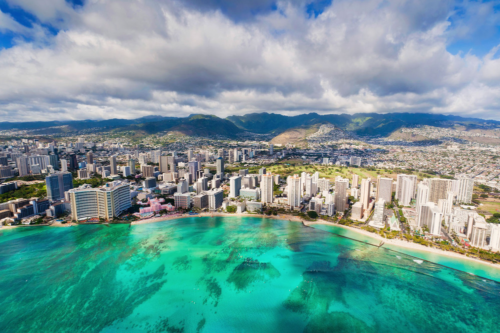 Waikiki Beach, Oahu, Hawaii, USA