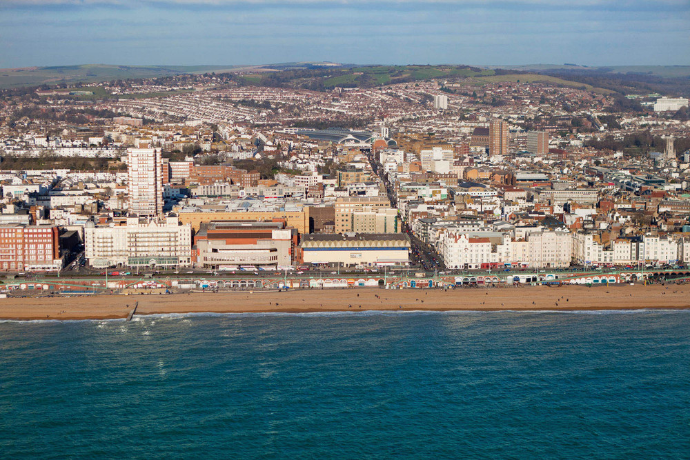 Brighton Coast, East Sussex, England