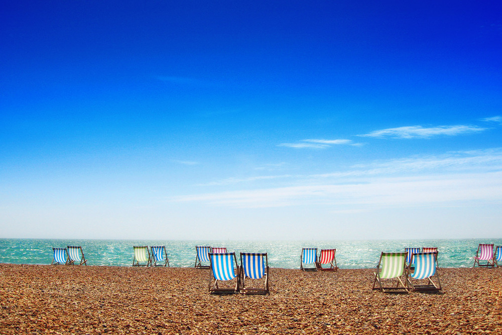 Brighton Beach, East Sussex, England