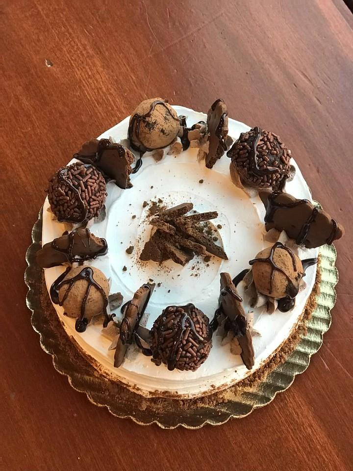 Copy of Three Course Dessert TRUFFLE CAKE