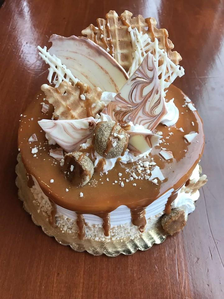 Copy of Golden Indulgence DECADENT CAKE