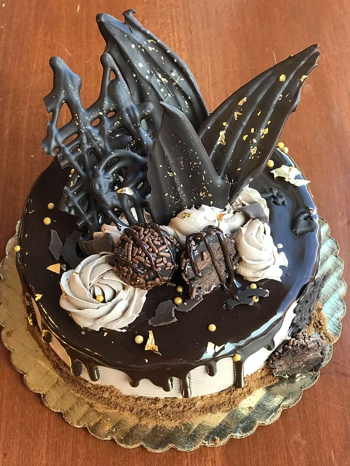 Copy of Copy of MIDNIGHT MASQUERADE DECADENT CAKE