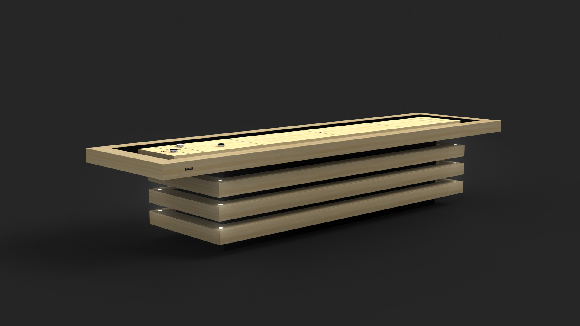 11Ravens Shuffleboard Tables | 11 RAVENS Luxury Games