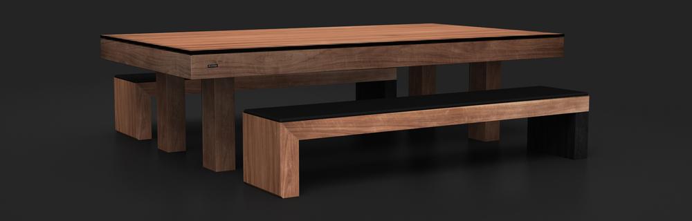 Malibu Bench | Custom Furniture | Your Custom Modern Design | 11 Ravens |