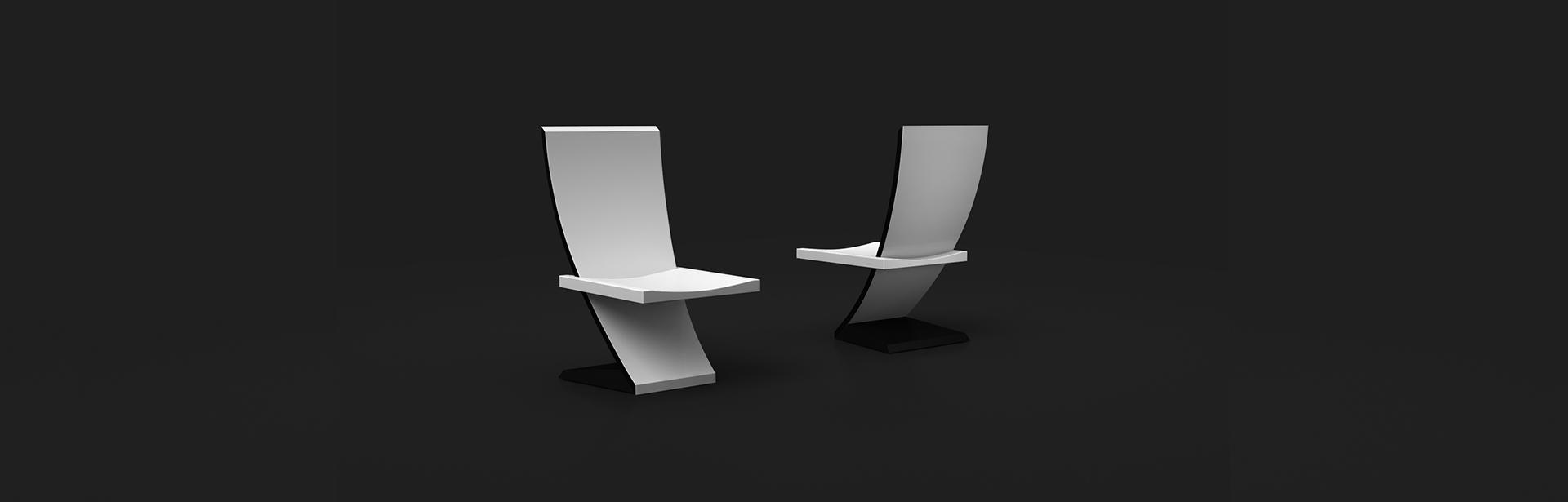 Theseus Chair   White | Custom Furniture | Your Custom Modern Design | 11  Ravens |