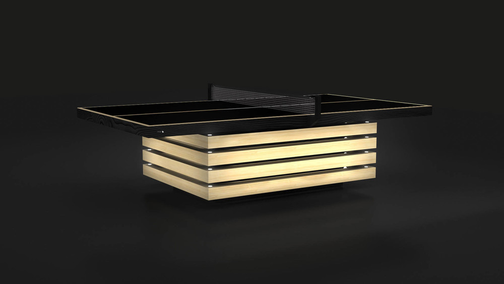 Arclight By 11Ravens   Custom Table Tennis Table