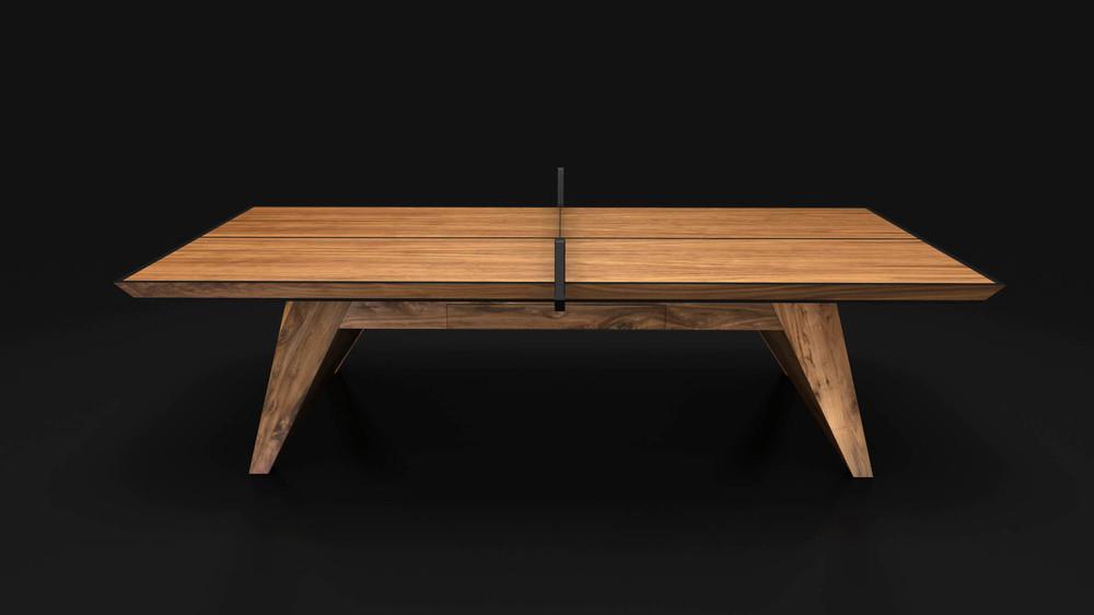 Trigon - Walnut Table Tennis Table
