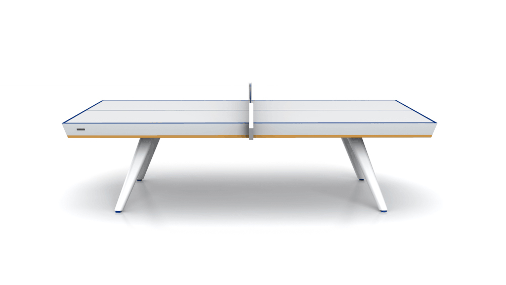 Victory - Halo White Table Tennis Table