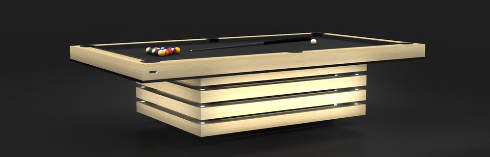 Arclight Billiards Table in Teak