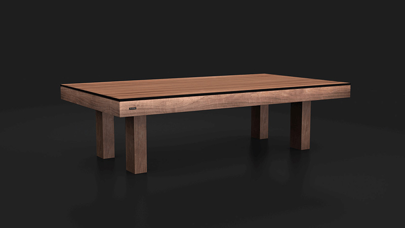 Malibu Walnut Billiards Table