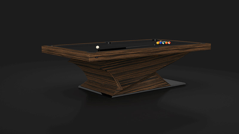 Raven madagascar Billiards Table