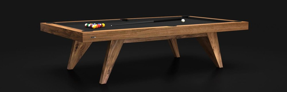 Trigon - Walnut Billiards Table