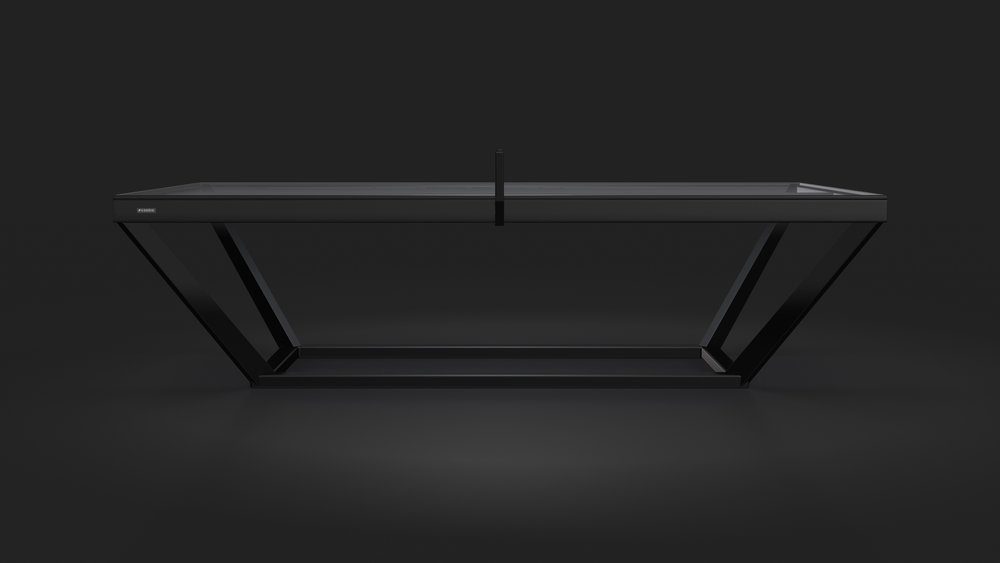 Vitro Table Tennis Table in Black
