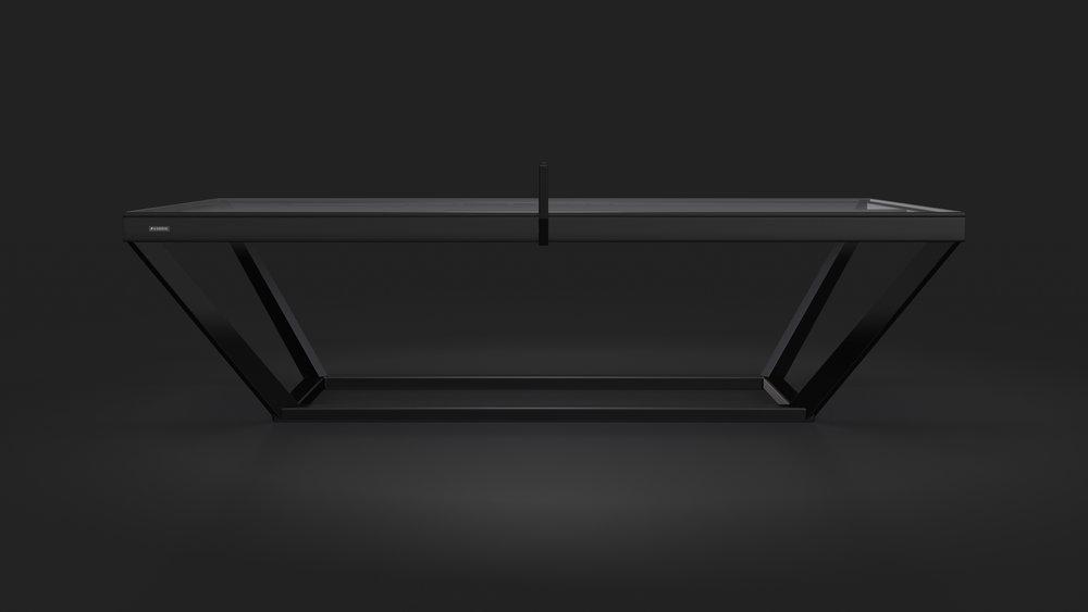 Vitro Table Tennis Table in Black