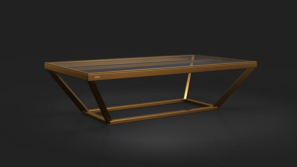 Vitro Table Tennis Table in Bronze
