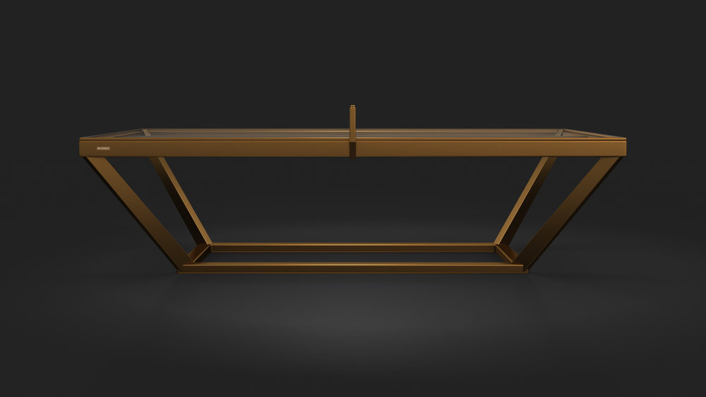 Vitro Table Tennis Table in Bronze