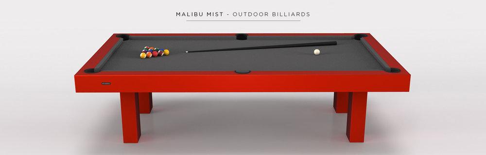 Malibu Mist Billiards