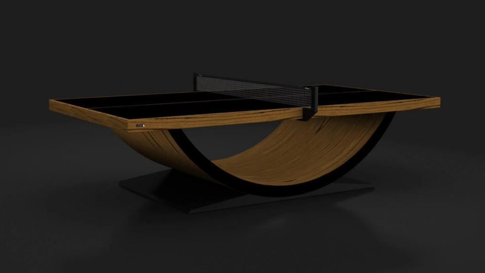 Theseus Table Tennis Table in Teak