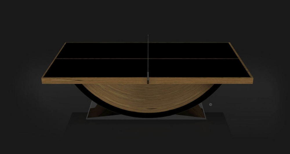 Theseus Table Tennis Table in Teak