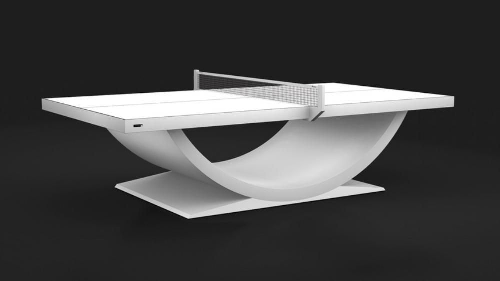 Theseus - White Table Tennis Table
