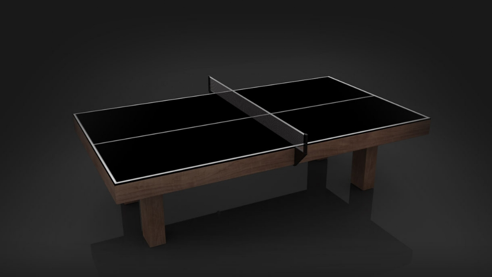 Malibu Table Tennis Table in Stained Walnut